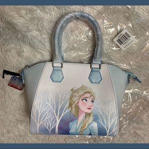 Loungefly Frozen 2 Elsa Satchel NWT